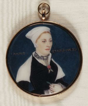 Jane Small c. 1535 after Holbein