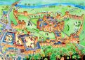 Alnwick Castle Visitor Map