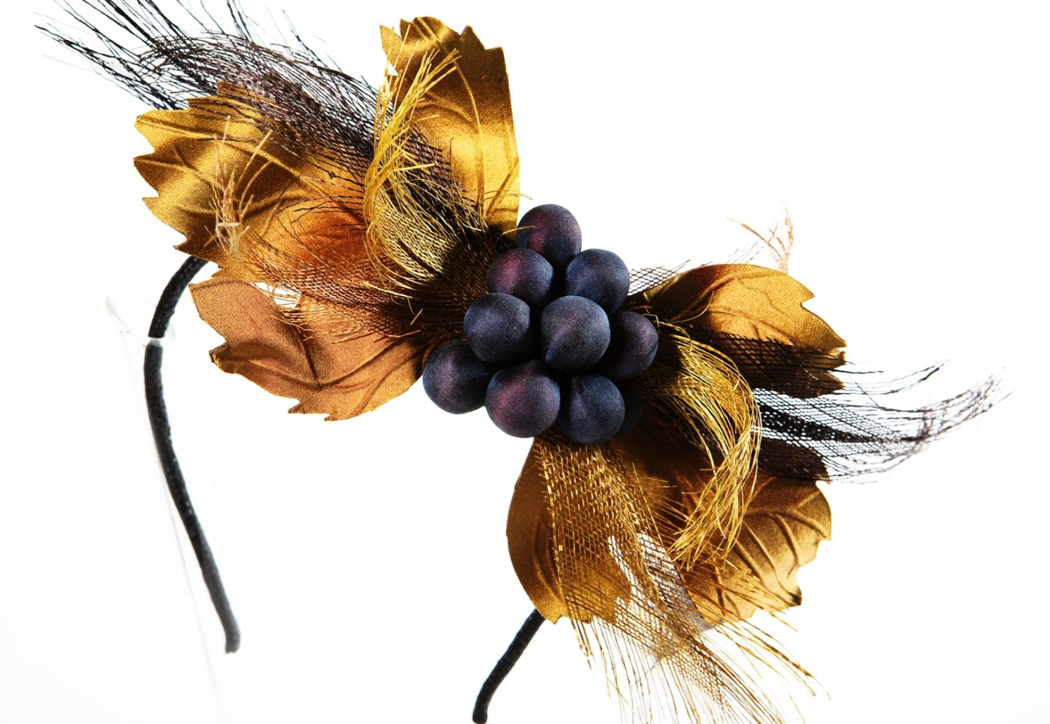 Grapes Headpiece