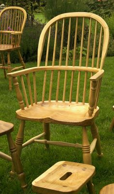 Stick Back Double Bow Chair